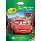 Crayola - Mini Coloring Pages w/ Markers-Disney Cars