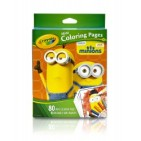 Crayola - Mini Coloring Pages with Markers - Minions