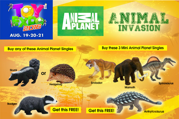 Toy Expo Animal Planet
