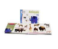Brainy Baby Board Book - Animals