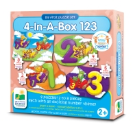 The Learning Journey My First 4-in-a-Box Puzzles 123