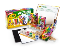 Crayola Meltdown Art Set - Buy at oga-lala.com