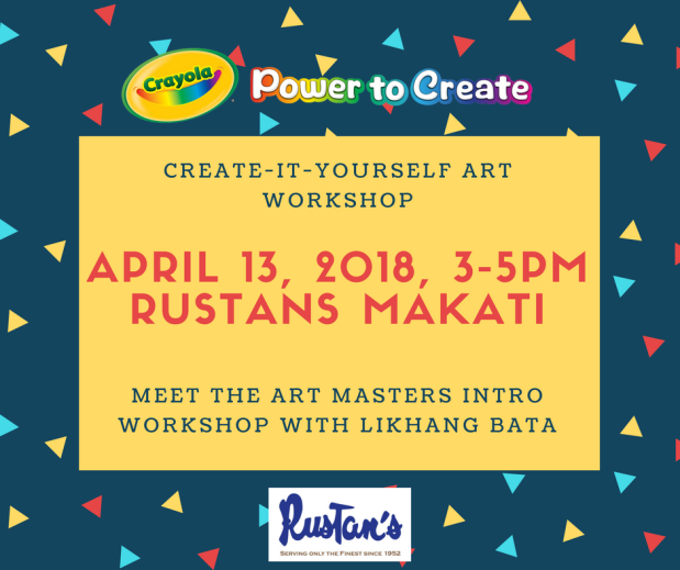 Create-it-yourself art workshop